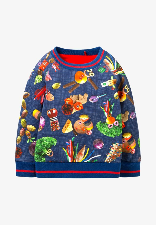 POTATO FUN - Sweater - blue