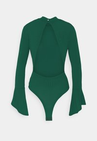 Glamorous - OPEN BACK BODYSUIT - Long sleeved top - forest green - 1