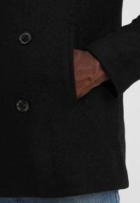 Pier One - Abrigo corto - black - 3