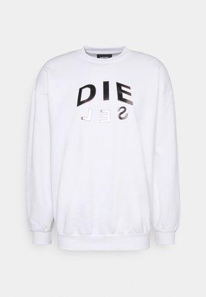 S-MART FELPA UNISEX - Sweatshirt - white
