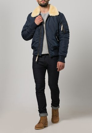 INJECTOR III - Bomber Jacket - rep. blue