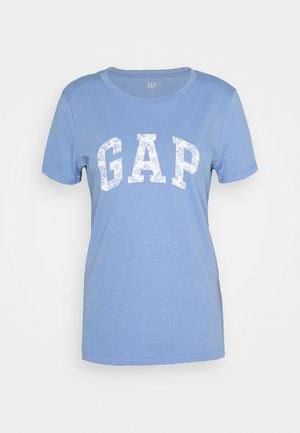 TEE - T-shirt z nadrukiem - dark-blue denim