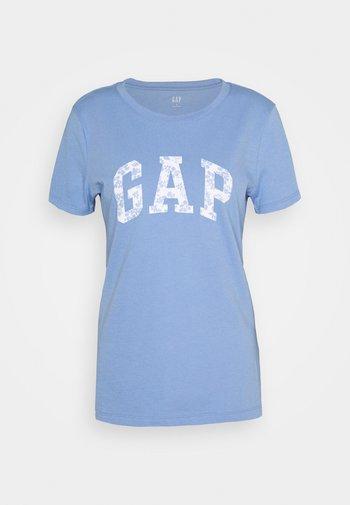 TEE - T-shirts med print - dark-blue denim