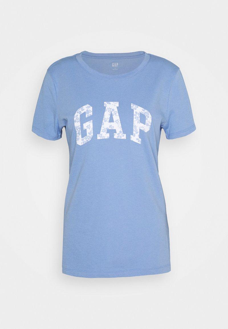 GAP - TEE - T-shirt z nadrukiem - dark-blue denim