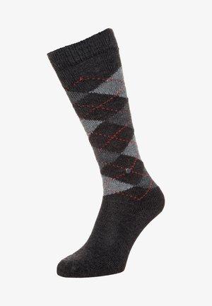 WHITBY - Knee high socks - anthrazit