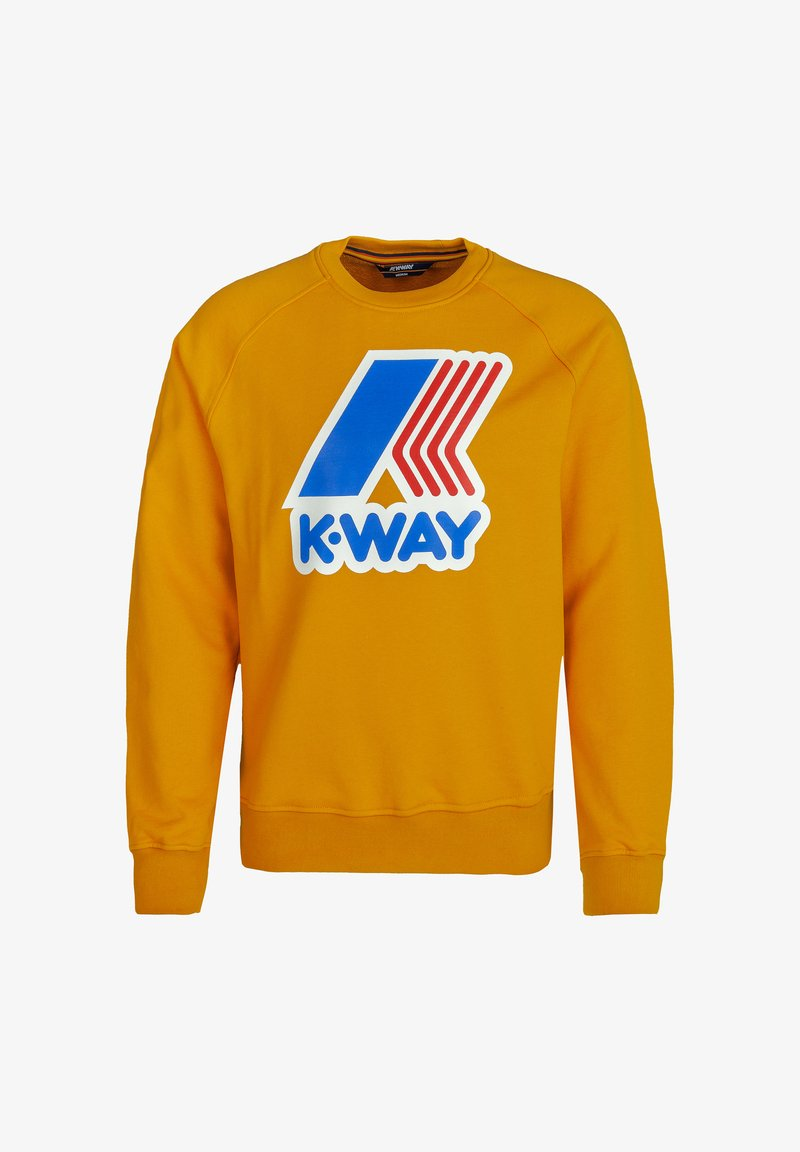 K-Way - EMANUEL - Sweatshirt - yellow