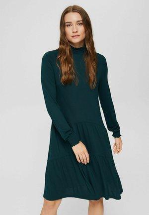 Gebreide jurk - dark teal green