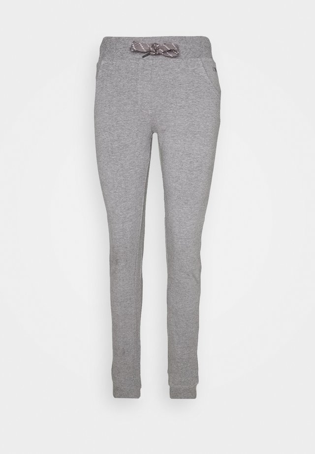 WOMAN LONG PANT - Trainingsbroek - fumo melange