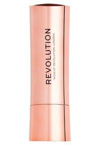 Make up Revolution - SATIN KISS LIPSTICK - Lipstick - rosé - 1