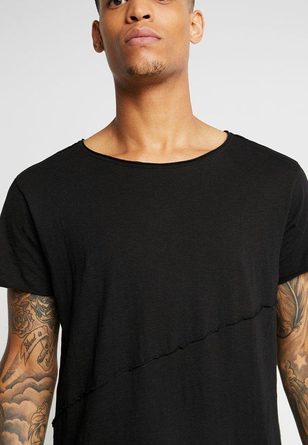 Urban Classics T-shirt z nadrukiem - black/czarny Odzież Męska WWXH