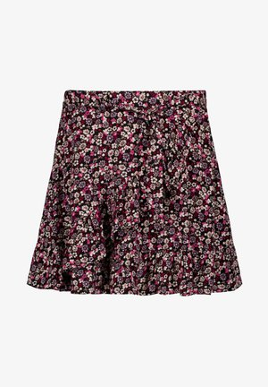 A-line skirt - off black