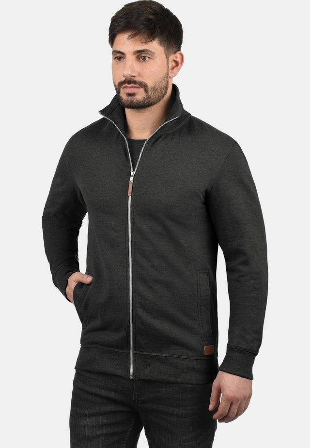 ALIO - veste en sweat zippée - charcoal