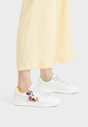 MICKEY &AMP MINNIE  - Sneakers laag - white