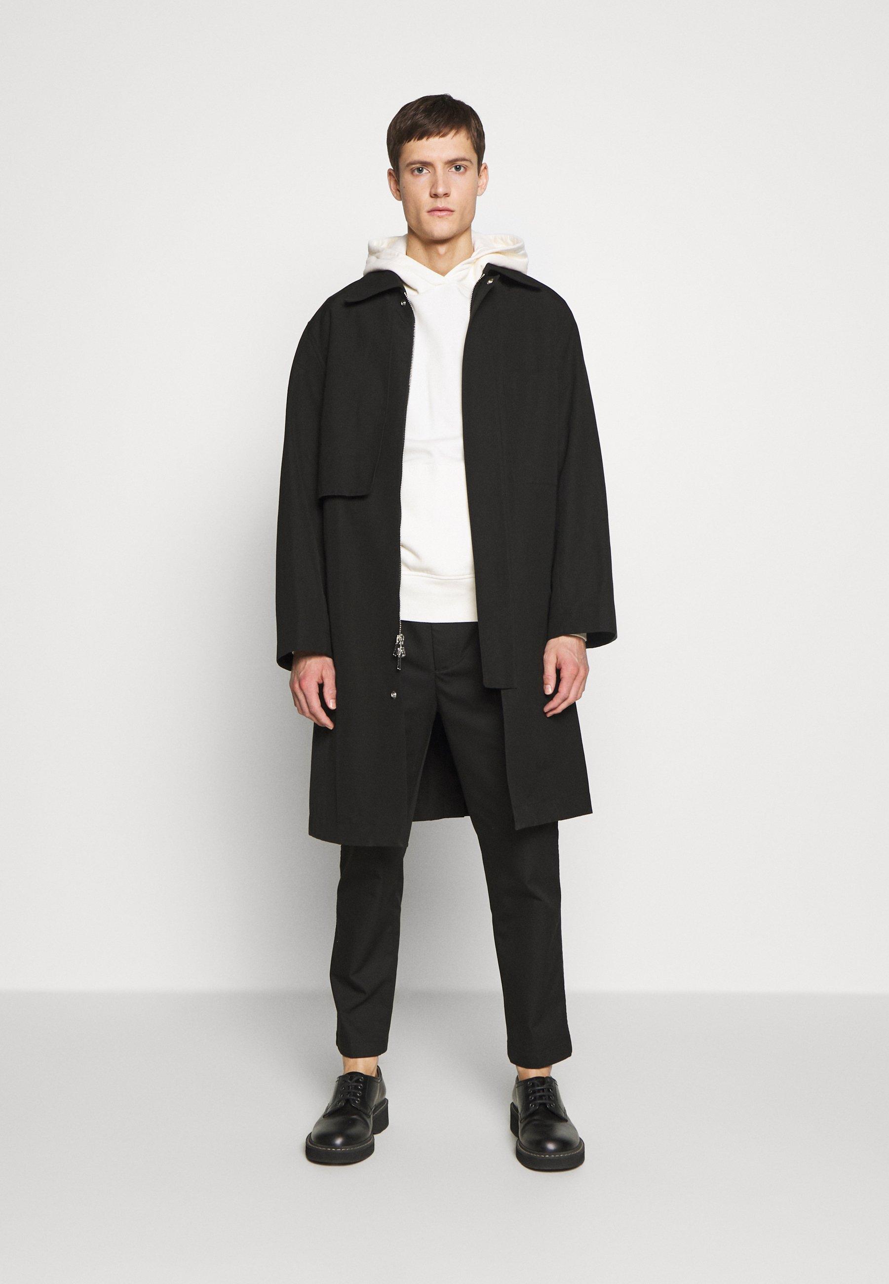 3.1 Phillip Lim CLASSIC SADDLE PANT CROPPED - Pantalon classique - black