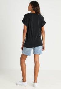 Culture - KAJSA - T-shirts - black wash - 2