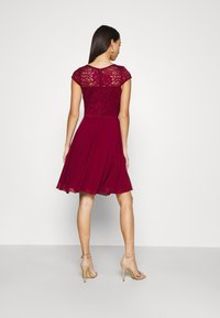 WAL G. - PEYTON SKATER DRESS - Cocktail dress / Party dress - wine - 2