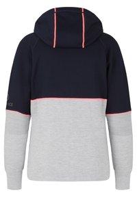 Bogner Fire + Ice - Zip-up sweatshirt - hellgrau/navy-blau - 1