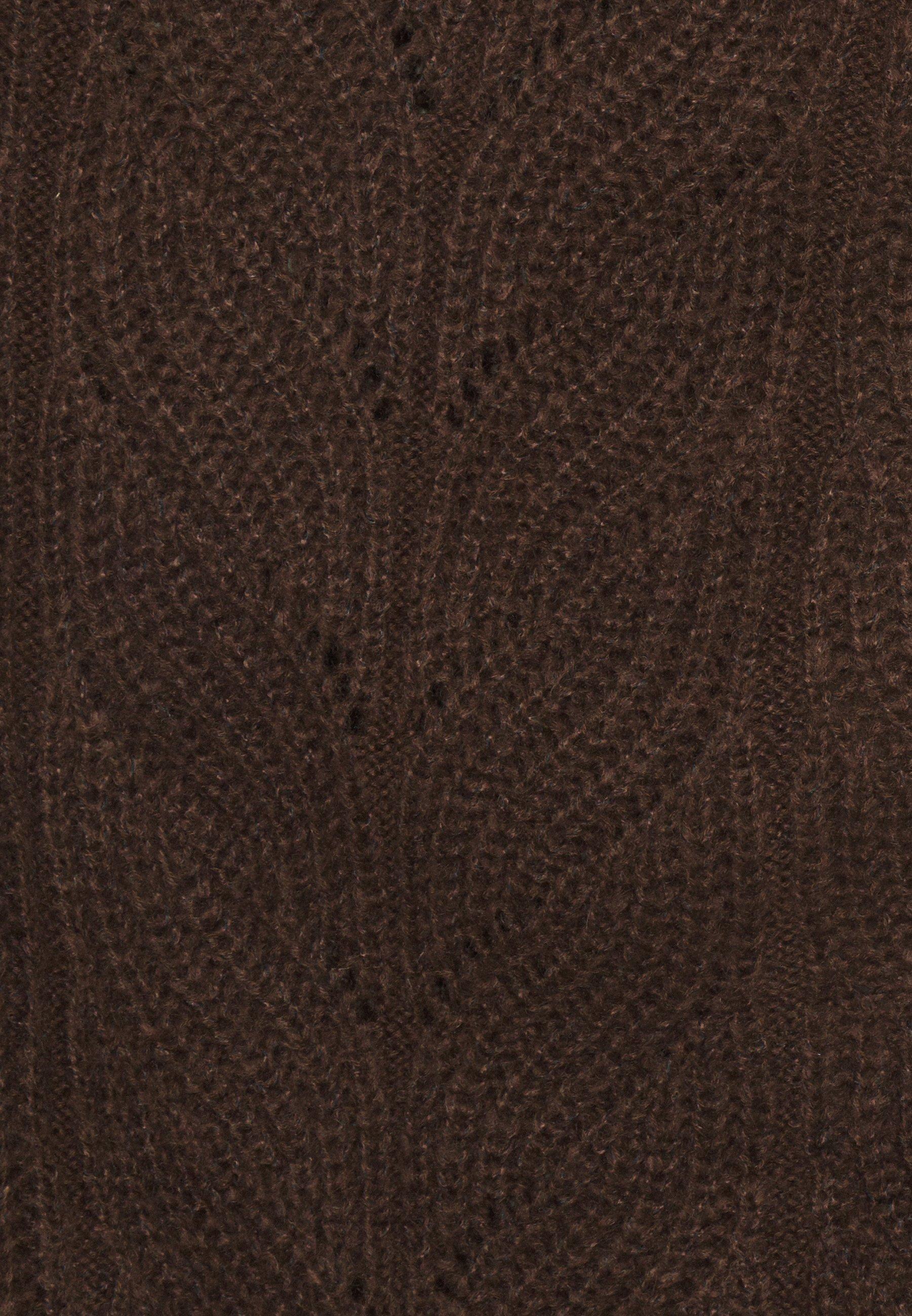 Object OBJNOVA STELLA - Cardigan - chicory coffee/melange - Women's winter clothes x1Di2