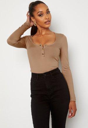 RICHESS  - Long sleeved top - light brown