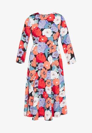 FLOWER - Denní šaty - multi
