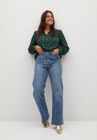 Violeta by Mango - LAURAP - Button-down blouse - grün - 1