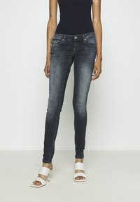 ONLY - ONLCORAL LIFE - Jeans Skinny Fit - blue black denim - 0