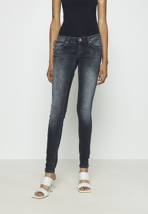 ONLCORAL LIFE - Jeansy Skinny Fit - blue black denim