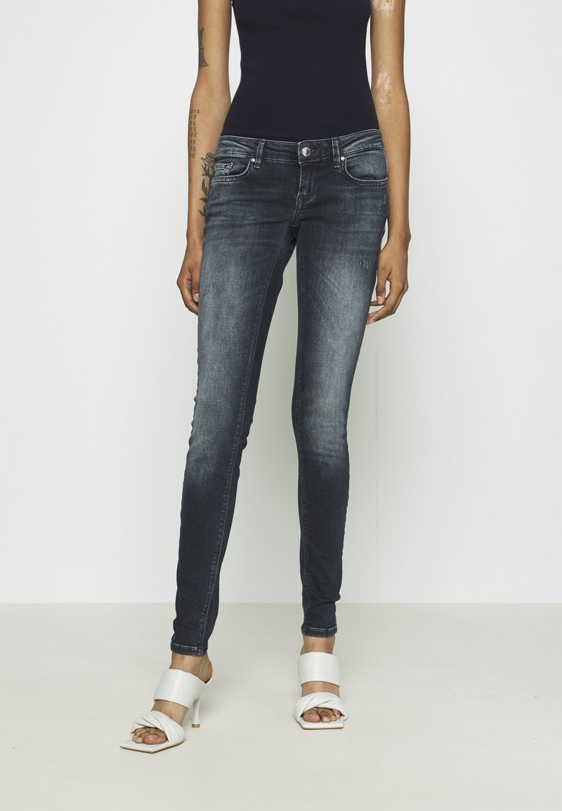 ONLY - ONLCORAL LIFE - Jeans Skinny Fit - blue black denim