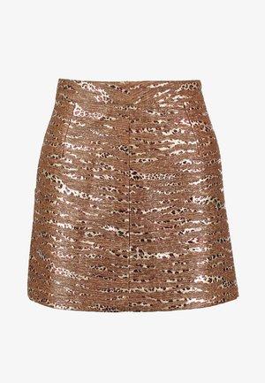 LADIES SKIRT - Mini skirt - bronze