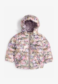 Next - SHOWER RESISTANT FLORAL PADDED  - Winter jacket - lilac - 0