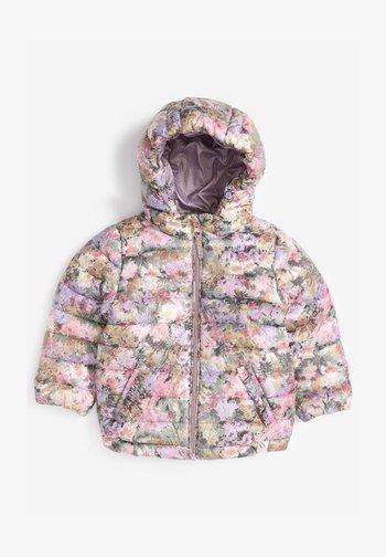 SHOWER RESISTANT FLORAL PADDED  - Winter jacket - lilac