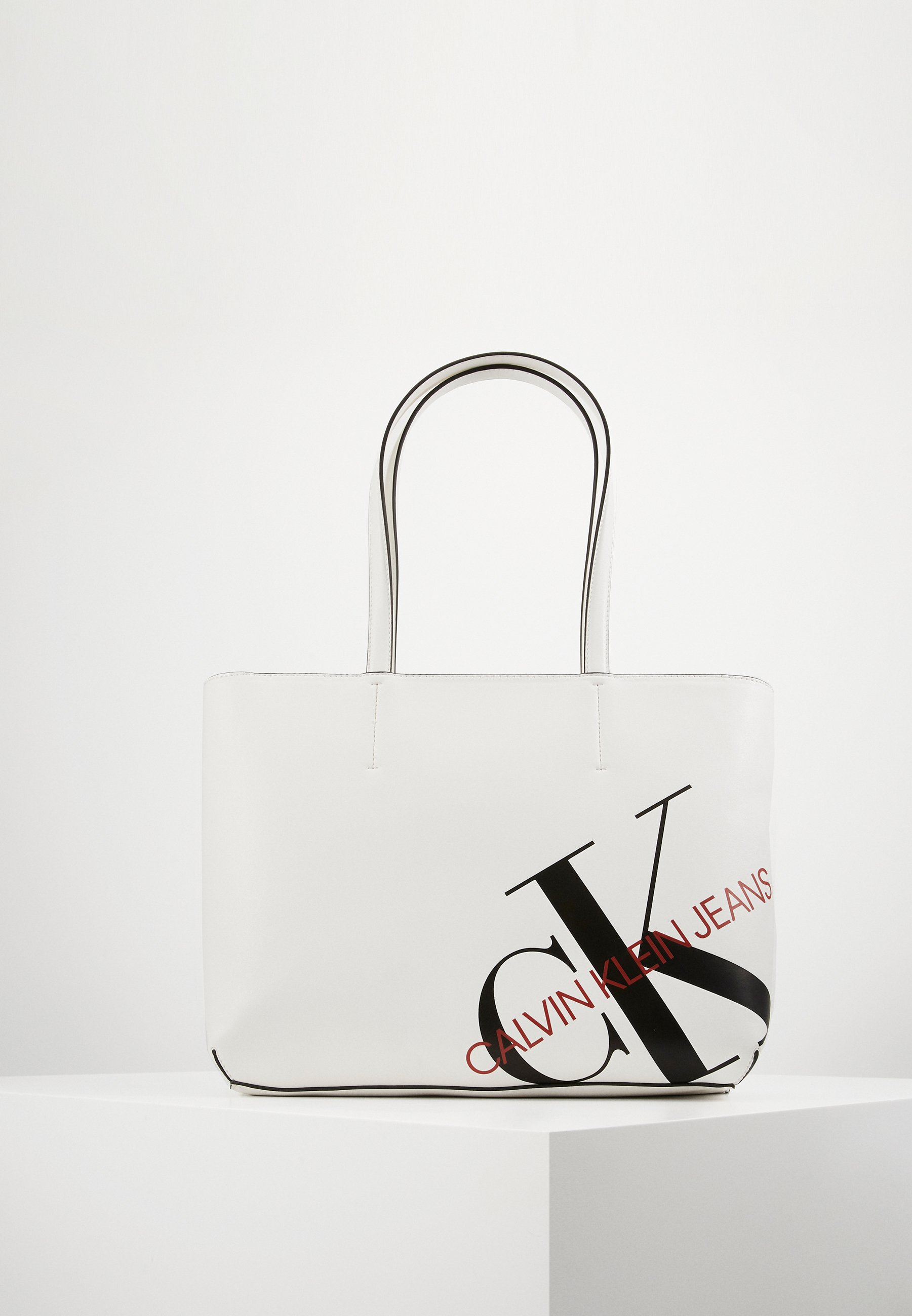 Cheap Largest Supplier Accessories Calvin Klein Jeans Tote bag white F2aLbui84 PTXpvnKF9