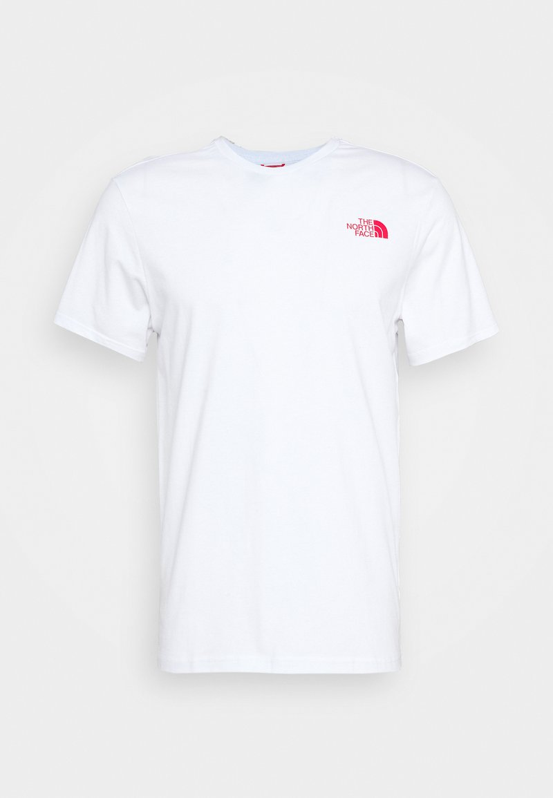 The North Face - HORIZON BOX TEE - Print T-shirt - white
