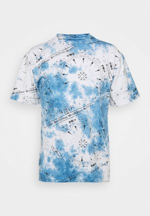 BANDANA TEE - Print T-shirt - blue