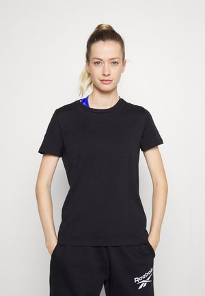 WOR COMM TEE - Basic T-shirt - black