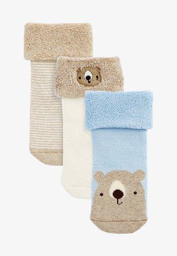 3 PACK  - Socks - light brown