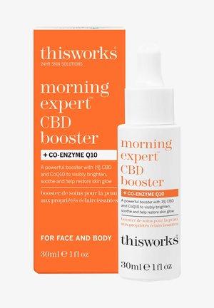 MORNING EXPERT CBD BOOSTER + CO-ENZYME Q10 - Face cream - -