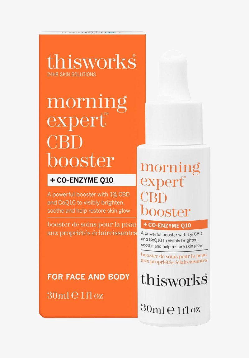 this works - MORNING EXPERT CBD BOOSTER + CO-ENZYME Q10 - Face cream - -