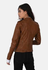 Oakwood - MANGA - Leather jacket - brown - 2