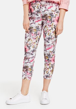 Trousers - candy sorbet khaki