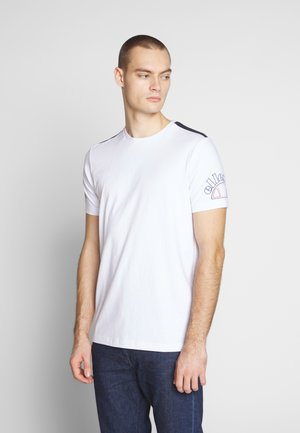 MAURO - T-shirt imprimé - white