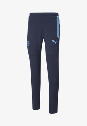 Tracksuit bottoms - peacoat-team light blue
