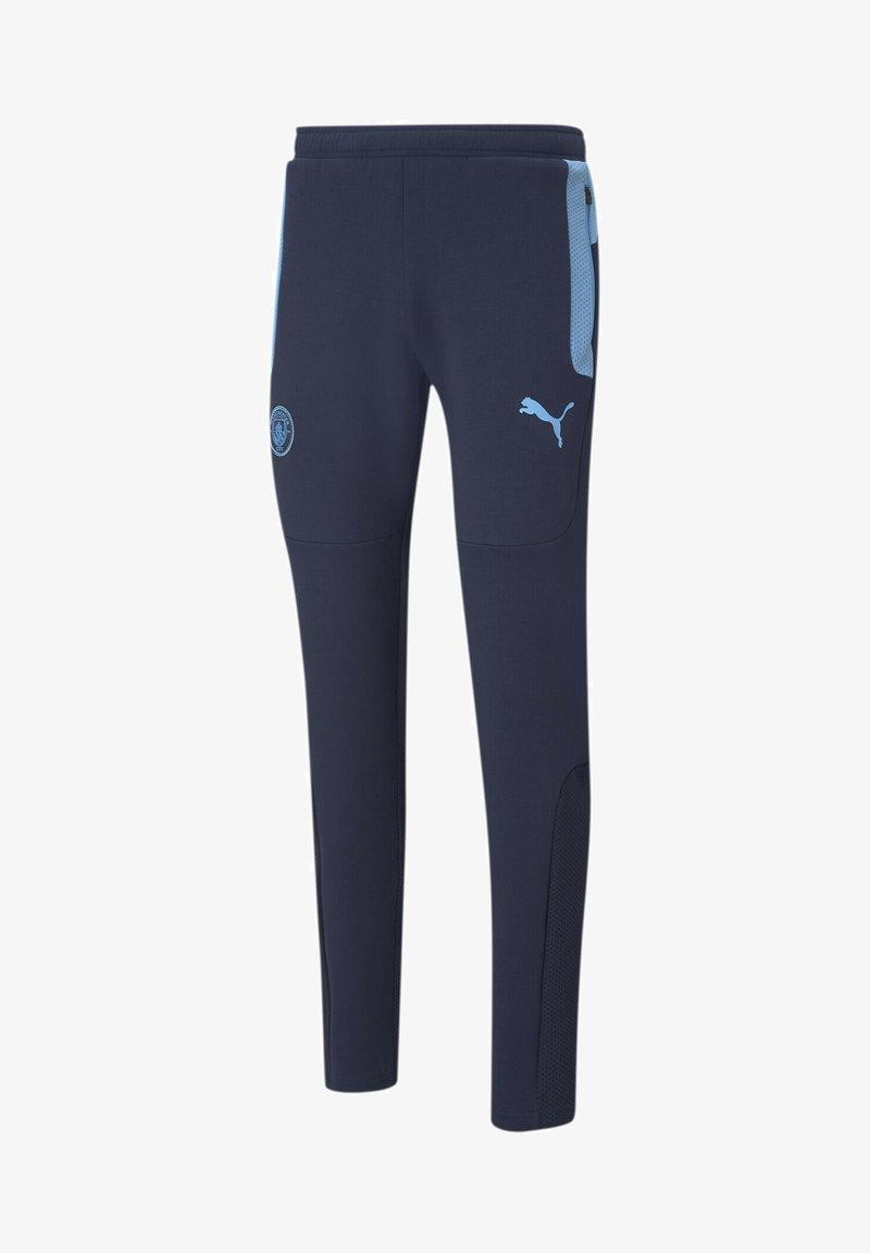 Puma - Tracksuit bottoms - peacoat-team light blue