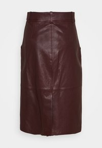 Coach - SNAP FRONT  - Pencil skirt - espreso - 1