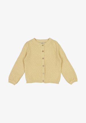 MAGNELLA - Strikjakke /Cardigans - soft beige
