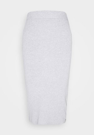 ON MY CLOUD - Pencil skirt - heritage heather