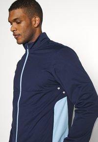 Polo Ralph Lauren Golf - STRATUS UNLINED JACKET - Vodotěsná bunda - french navy/powder blue - 3