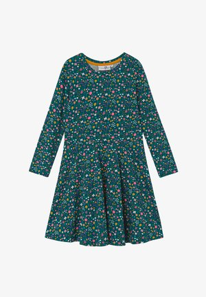 Žerzejové šaty - grün