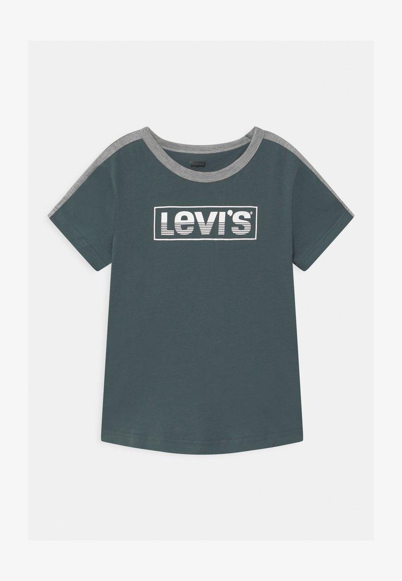 Levi's® - CURVED HEM UNISEX - Triko spotiskem - dark slate
