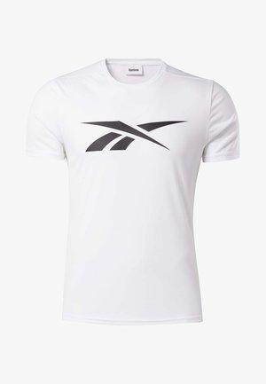 WORKOUT READY TEE - Print T-shirt - white